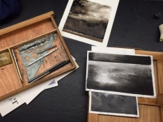 [SML Artist in Residence} Chris Volpe's charcoal studies
